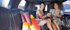 VIP Limo Hire for Shopping Trips